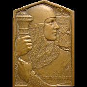 Bronze Medallic Art Com medallion An Appreciation Avard Fairbanks 1930
