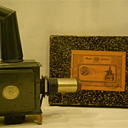 Antique Germany EP magic lantern 12 slides original box