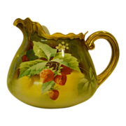 Limoges Stouffer strawberry pitcher Pickard artist Heap