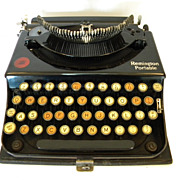 SALE 1921 Remington Portable Typewriter Model  No. 1   Serial  NX13333