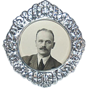 Russian Grand Duchess Olga Alexandrovna's Original Photograph of Husband Colonel Nikolai Kul