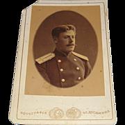 Original Pre-Revolution Photograph of Alexander Nikanorovitch Kulikovskiy from Grand Duchess O