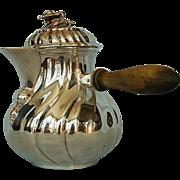 SOLD Late 19th Century Continental 800 Fine Silver Hot Milk Pot