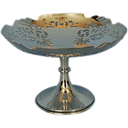 Early 20th Century Sterling Silver Tazza