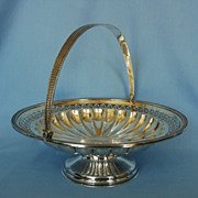 Early 20th Century Polish Silverplate Bowl