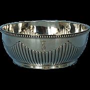 19th Century German 800 Silver Bowl by Friedlander Bros