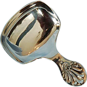 Vintage English George V Sterling Silver Tea Caddy Spoon by Cooper Bros.