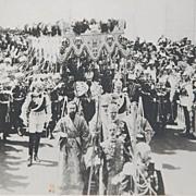 19th Century Photograph of Coronation of Tsar Nicholas II 1896