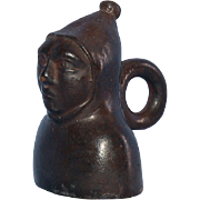 18th Century Russian Bronze Candle Snuffer