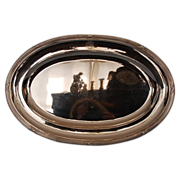 Antique French 950 Fine Silver Meat Platter by Adolphe Debain