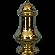 Mid-18th Century English Brass Caster