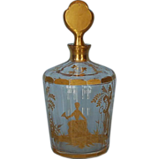 19th Century French Crystal Cologne Bottle