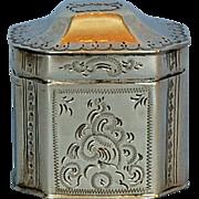 19th Century Dutch 833 Fine Silver Vinaigrette