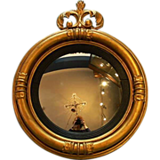 Early 19th Century English Bull's Eye Mirror