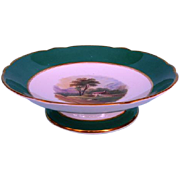 19th Century English Porcelain Dessert Tazza