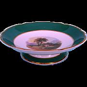 19th Century English Porcelain Dessert Tazza