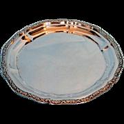 Vintage Egyptian .900 Silver Salver
