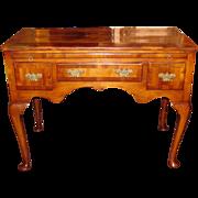 Antique English George II Walnut Lowboy Circa 1740