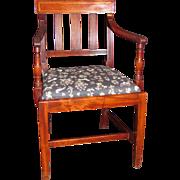 Set of 8 Antique English Sheraton Mahogany Dining Chairs Circa 1815