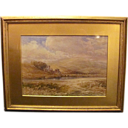 John Keeley Watercolor on Paper English Circa 1890