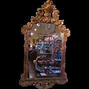 Large Antique Italian Gilt Mirror Circa 1910