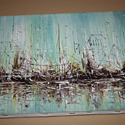 SALE Painting Ship Ocean Morris Katz Nautical Beach