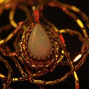 SALE Opal Necklace GF Genuine Natural Australian