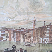 SALE Estate Canvas Painting Mural Backdrop Venice Italy