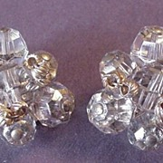 Hattie Carnegie Crystal Earrings