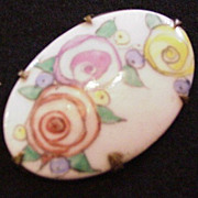 Victorian Floral Pin
