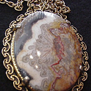 Crazy Lacey Agate Necklace