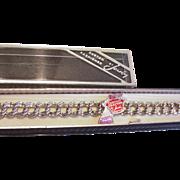 Sterling Silver Charm Bracelet MIB