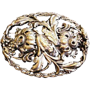 Large Victorian Revival Pin