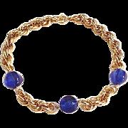 Ocean Blue Beads Necklace
