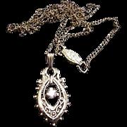 Victorian Revival Pendant Necklace