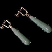 Peking Glass Earrings