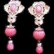 Barrera Faux Coral Earrings