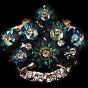 Margarita Rhinestone Crown Pin
