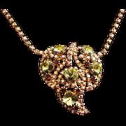 Flashy Rhinestone Necklace