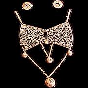 Large Filigree Necklace