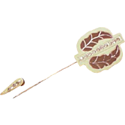Celluloid Hat Pin