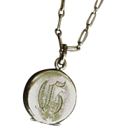 Tiny Victorian Locket for Child or Doll