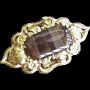 Georgian Banded Agate Pin
