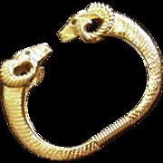 KJL for Avon Ram's Head Bracelet