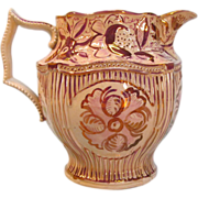 Pink Luster Pitcher ca. 1825
