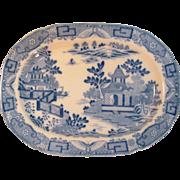Davenport Pearlware Tray ca. 1800