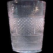 SOLD Blown 3-mold Flip Glass ca. 1825-30