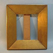 SOLD 19th Century Gilt Oak Frame