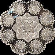 SOLD Hawkes Cut Glass Plate ca. 1900