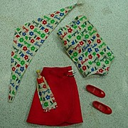 Mattel Skipper Outfit, Day At The Fair, Excellent and Complete, 1965!